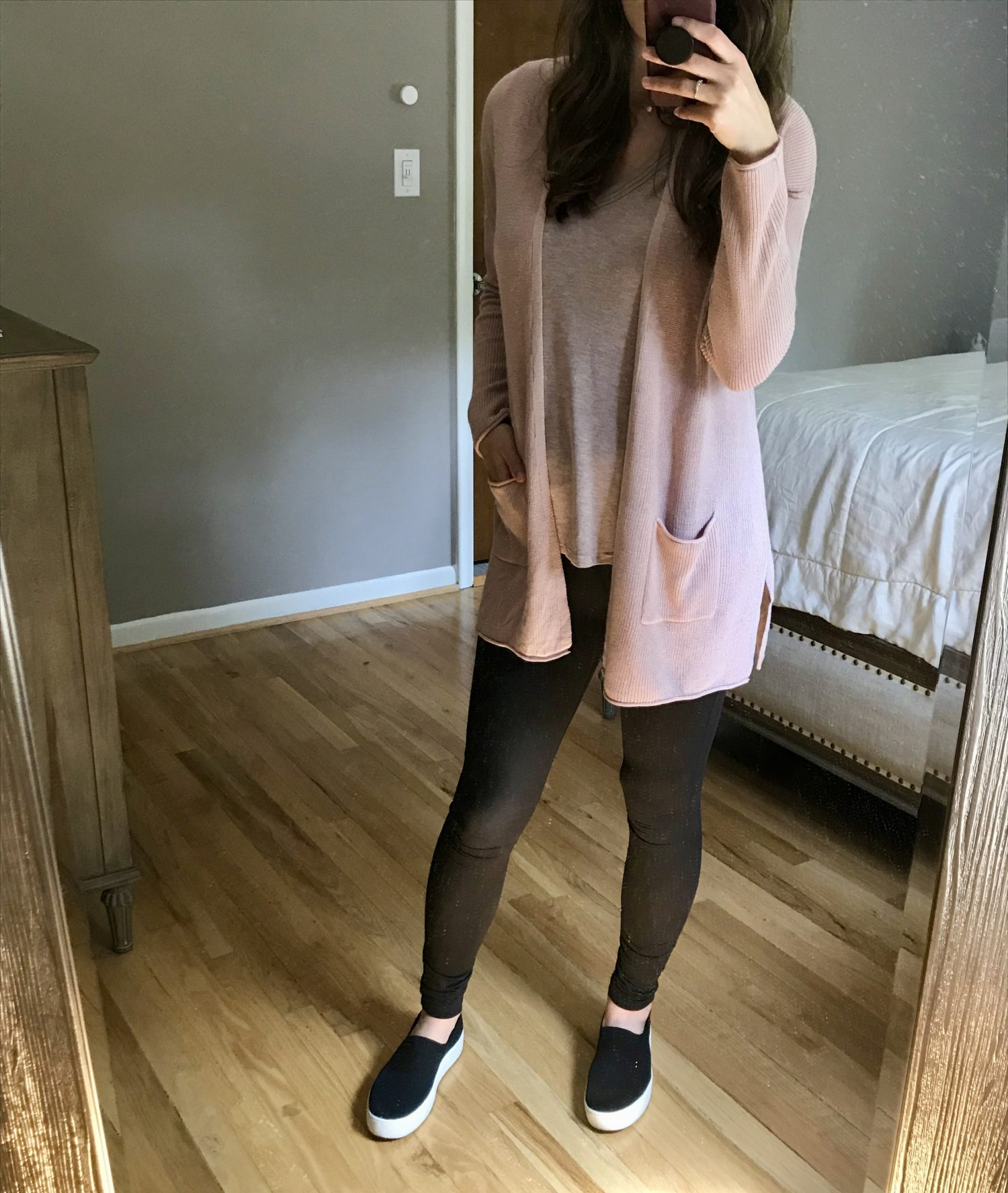 Affordable Outfit Try-On (23 Weeks)