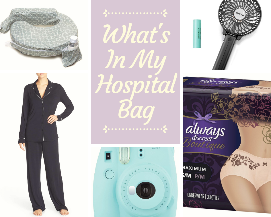 What's In My Hospital Bag: I'm Extra Edition