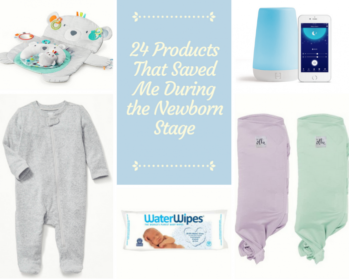 24 Products That Saved Me During the Newborn Stage